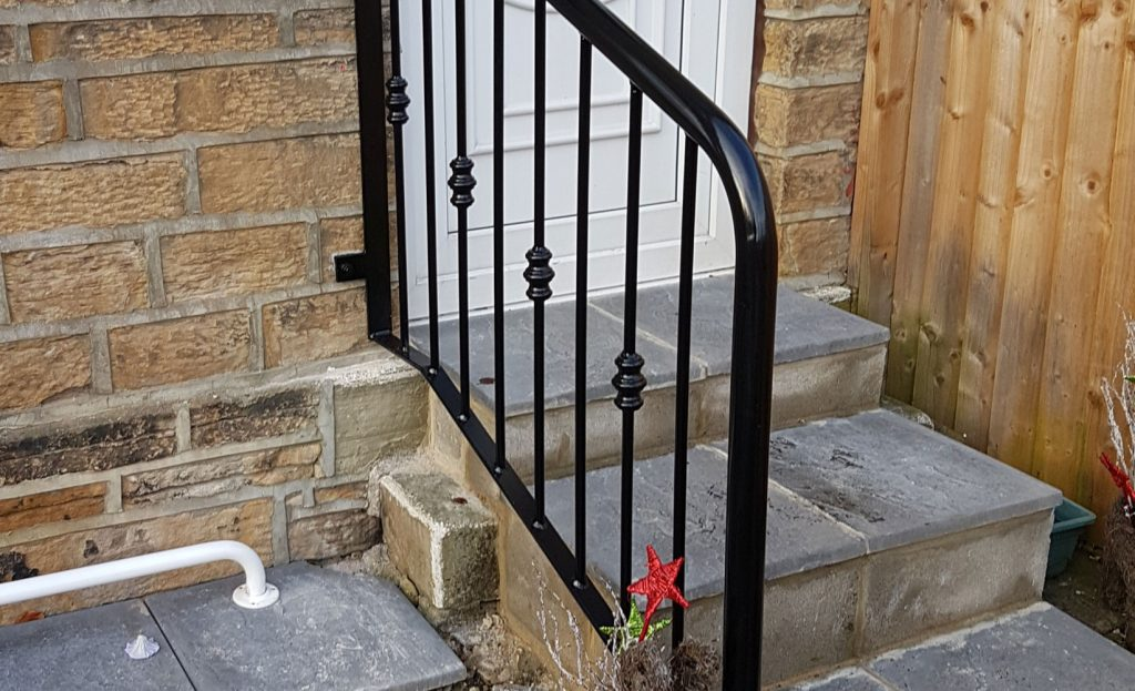 wrought iron traditional balustrade